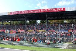 The Ferrari fans