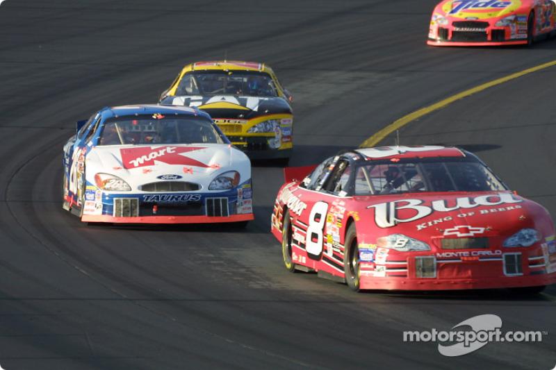 Dale Earnhardt Jr. and Jimmy Spencer