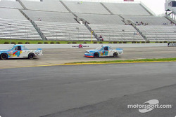 Bobby Hamilton and Joe Ruttman