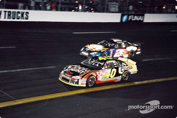 Sterling Marlin and Rusty Wallace