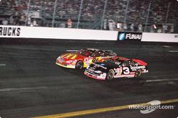 Dale Earnhardt and Bill Elliott