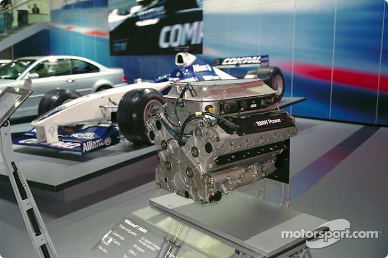The Formula 1 BMW V10-cylinder engine