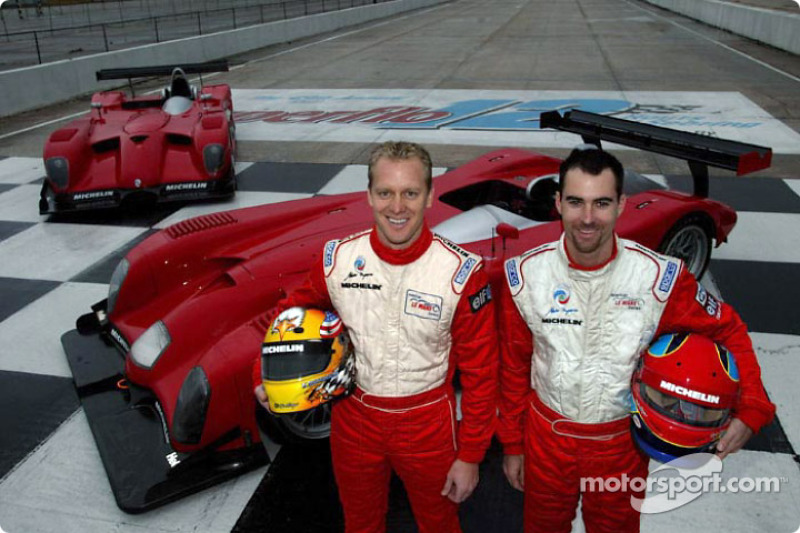 Terry Borcheller and Bryan Herta