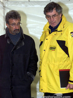 Eddie Jordan and Gary Anderson