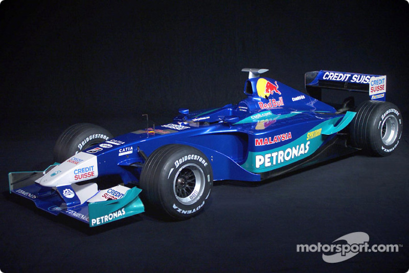 The new 2002 Sauber Petronas C21
