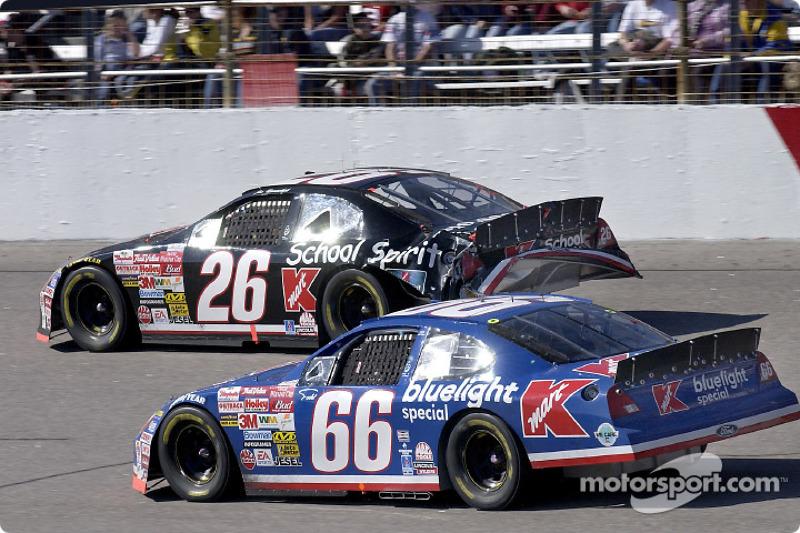 Last race for the Kmart colors: Todd Bodine and Joe Nemechek