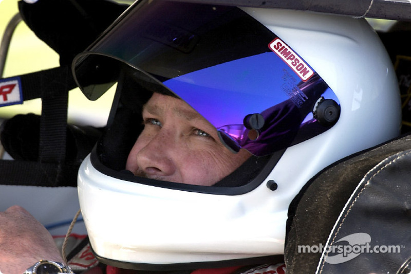 Todd Bodine in a unsponsored Carter/Haas Ford captured the pole in Las Vegas