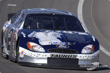 Rusty Wallace's Miller Lite Ford Taurus with an Elvis Presley paint scheme