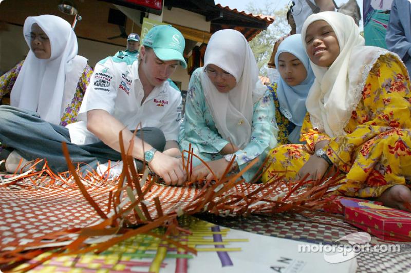 Petronas day in Kuantan, Malaysia: Nick Heidfeld