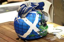 Marino Franchitti's helmet