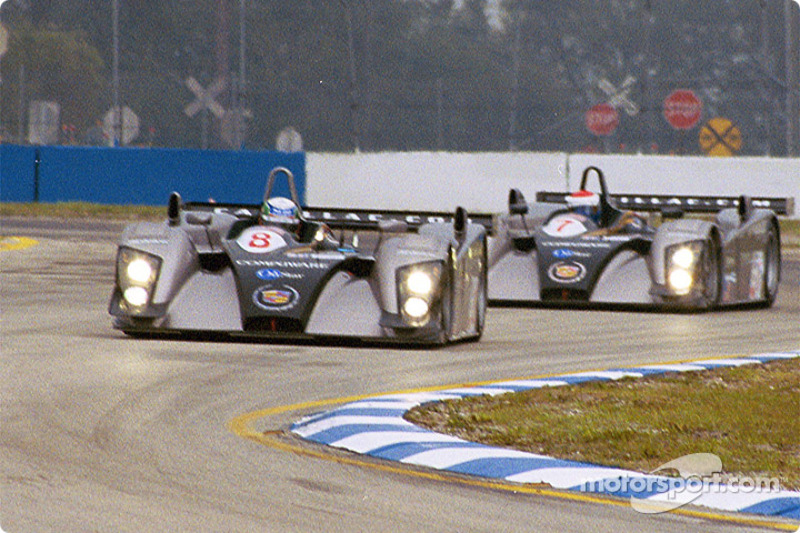 The two Cadillac Northstar LMP 02