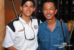 Alex Yoong and Hanifah