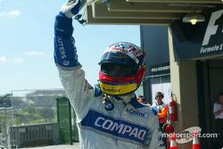 Pole winner Juan Pablo Montoya
