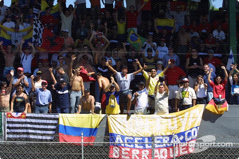Juan Pablo Montoya fans
