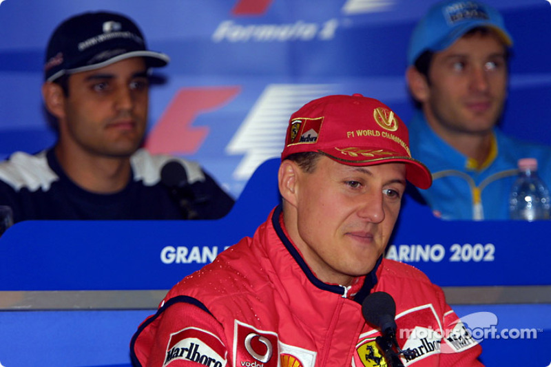 Thursday press conference: Michael Schumacher