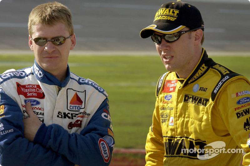 Jeff Burton and Matt Kenseth