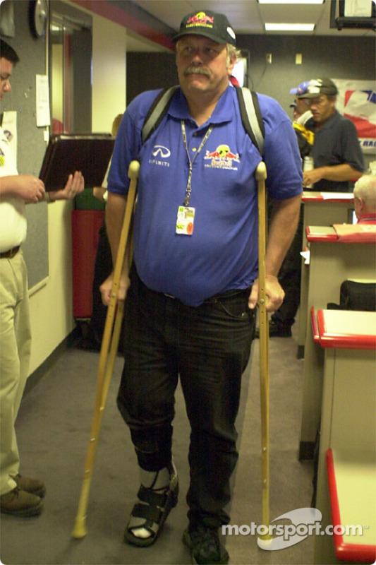 Motorsport.com reporter and Cheever Racing spotter David Reininger
