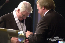 Glen Wood is inducted into the International Motorsports Hall of Fame