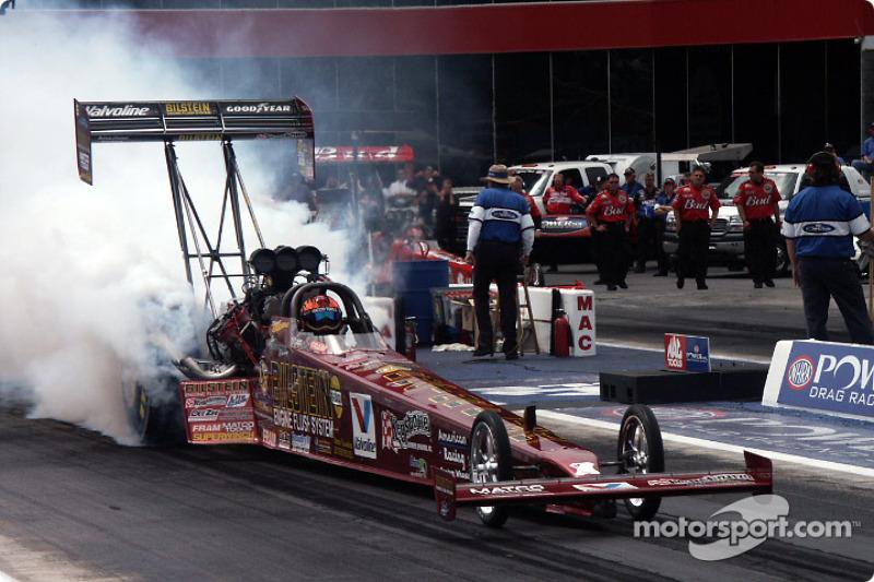 Joe Amato-owned Top Fuel car