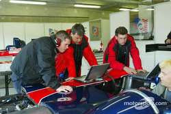 Panoz engineers