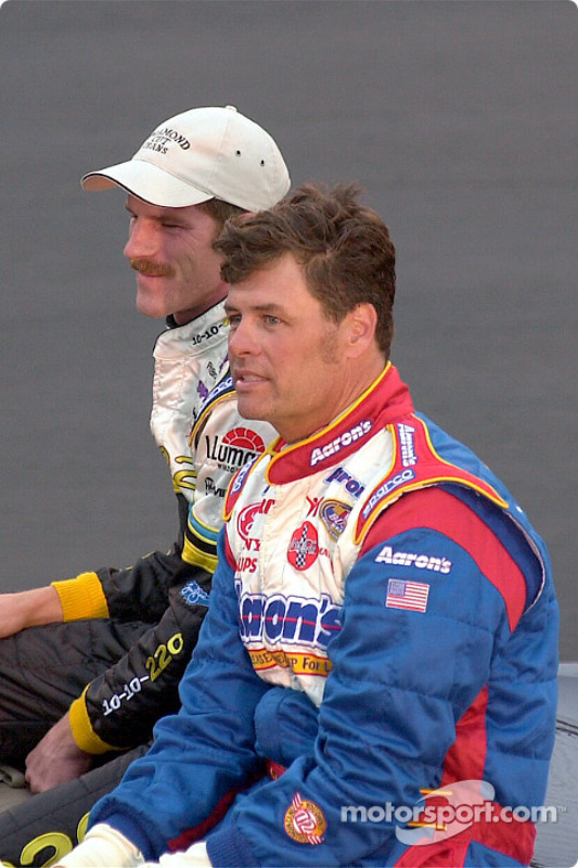 Drivers presentation: Kerry Earnhardt and Michael Waltrip