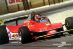 The typical Gilles Villeneuve powerslide technique