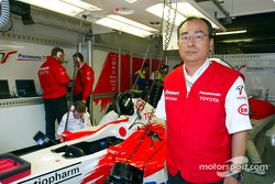 Kazuo Takeuchi, General Manager Race Engine Development at TMC