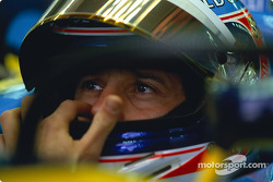 Jarno Trulli getting ready for the race