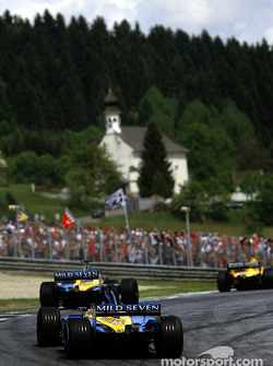 The two Renault F1