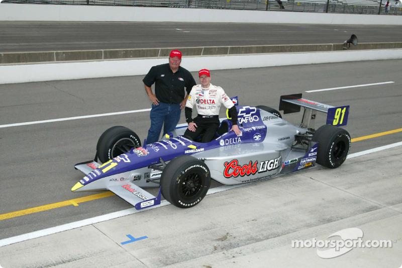 Buddy Lazier and Ron Hemelgarn