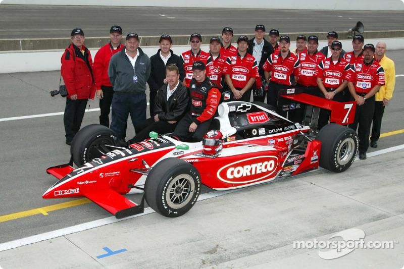 Al Unser Jr. and Kelley Racing team