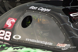 Ron Capps in the car