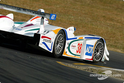 Andy Wallace in the ADT Champion Audi R8 #38