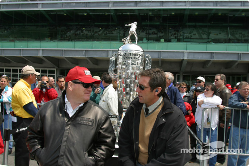 Chip Ganassi and Tony George