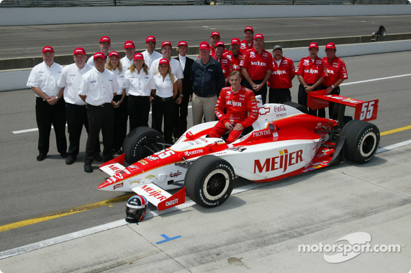 Arie Luyendyk and team