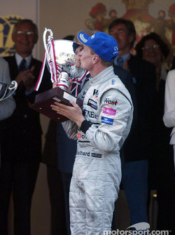 Race winner David Coulthard