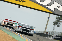 Two Saleen-Ford S7R cars
