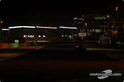 Racing at night