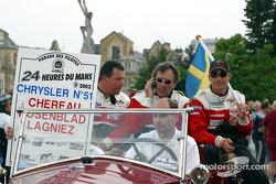 Jean-Luc Chereau, Jean-Claude Lagniez and Carl Rosenblad