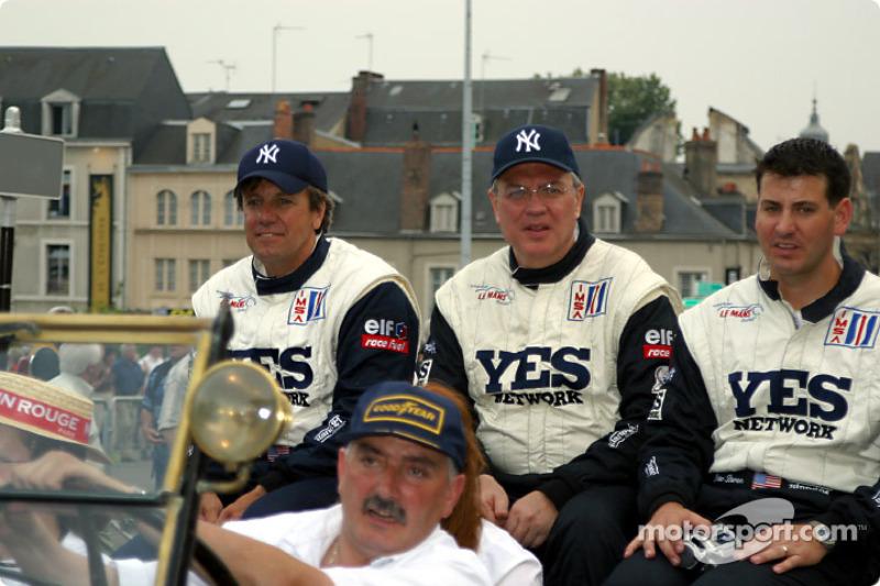 Leo Hindery, Tony Kester and Peter Baron