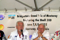 Barber Dodge Pro Series Race press conference: Chris Pook and Skip Barber