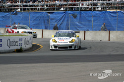 Porschehaus Racing Porsche 911 GT3-RS during the pace laps