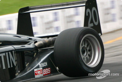 Eric Jensen lifting a rear wheel