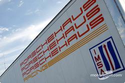 Porschehaus Racing trailer