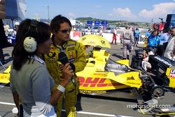 Interview for Giancarlo Fisichella