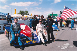 Clint Field and Mark Neuhaus on the grid