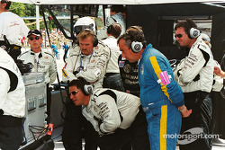 Cadillac crew watches intently