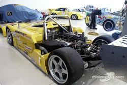 G & W Motorsports shop at VIR