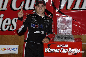 Race winner Ryan Newman