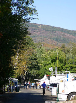 Mont-Tremblant paddock